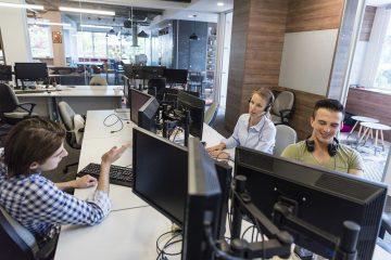 Proteger os computadores da empresa