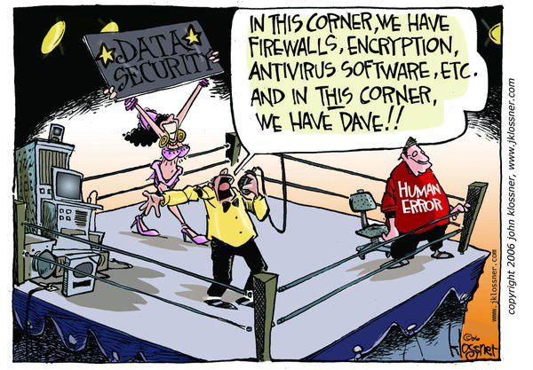 segurança vs user